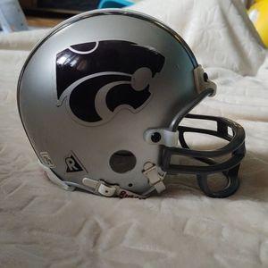 Kansas State mini helmet
